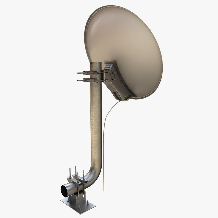 Antena parabólica royalty-free modelo 3d - Preview no. 10
