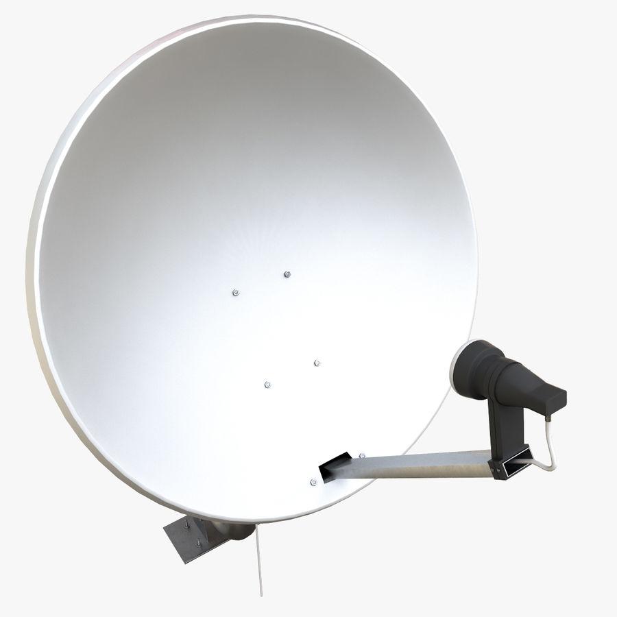Antena parabólica royalty-free modelo 3d - Preview no. 8