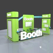 Exhibition Booth 1 3d model