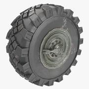 Ural wheel 3d model