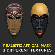 Realistic African Mask 3d model