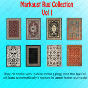 Rug Collection Vol1 3d model