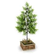 Street Tree Planter 3 3d model