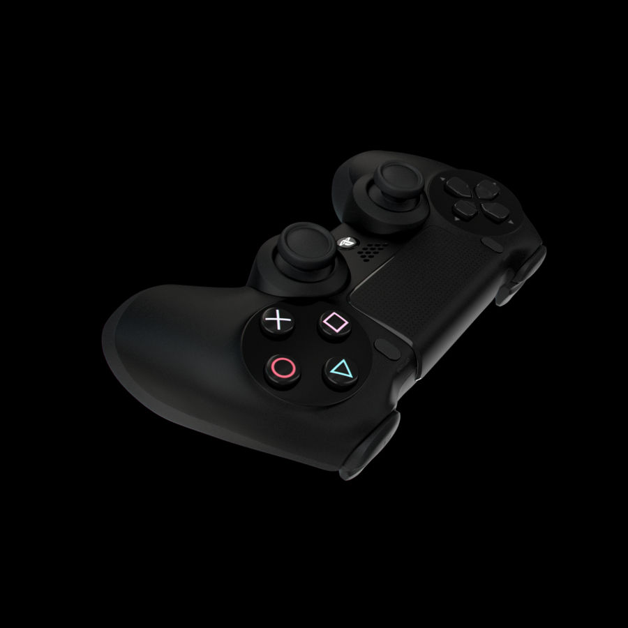 Joystick - Controller - PS4 royalty-free 3d model - Preview no. 8