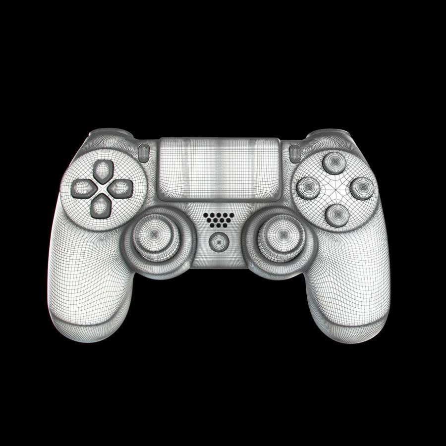 Joystick - Controller - PS4 royalty-free 3d model - Preview no. 11