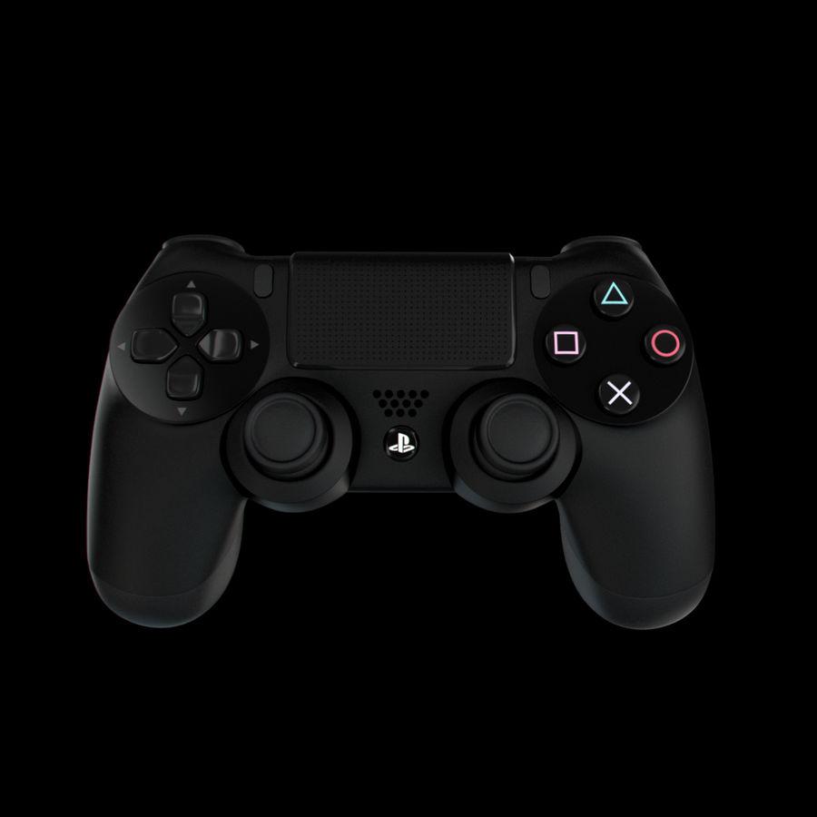 Joystick - Controller - PS4 royalty-free 3d model - Preview no. 3