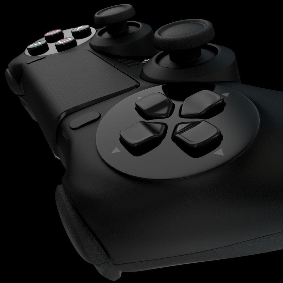 Joystick - Controller - PS4 royalty-free 3d model - Preview no. 9