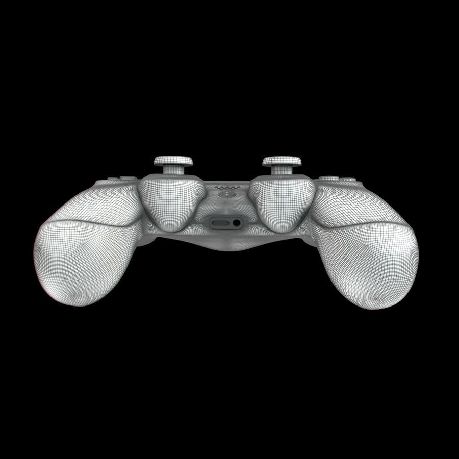 Joystick - Controller - PS4 royalty-free 3d model - Preview no. 14