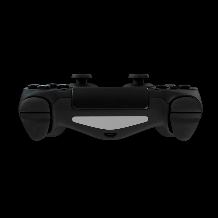 Joystick - Controller - PS4 royalty-free 3d model - Preview no. 5