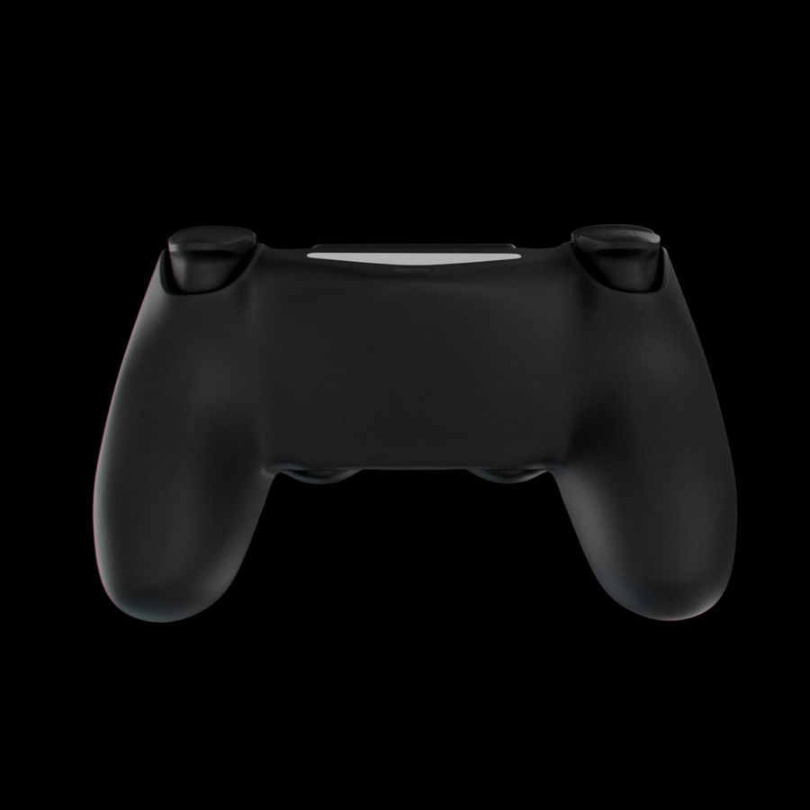 Joystick - Controller - PS4 royalty-free 3d model - Preview no. 4