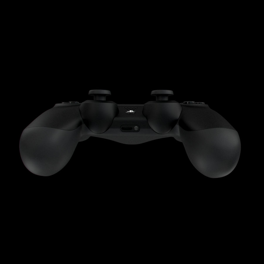 Joystick - Controller - PS4 royalty-free 3d model - Preview no. 6