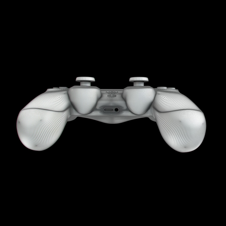 Joystick - Controller - PS4 royalty-free 3d model - Preview no. 14