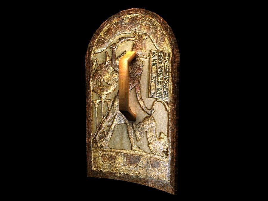 King Tutankhamun Shield royalty-free 3d model - Preview no. 4