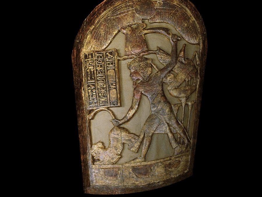 King Tutankhamun Shield royalty-free 3d model - Preview no. 6