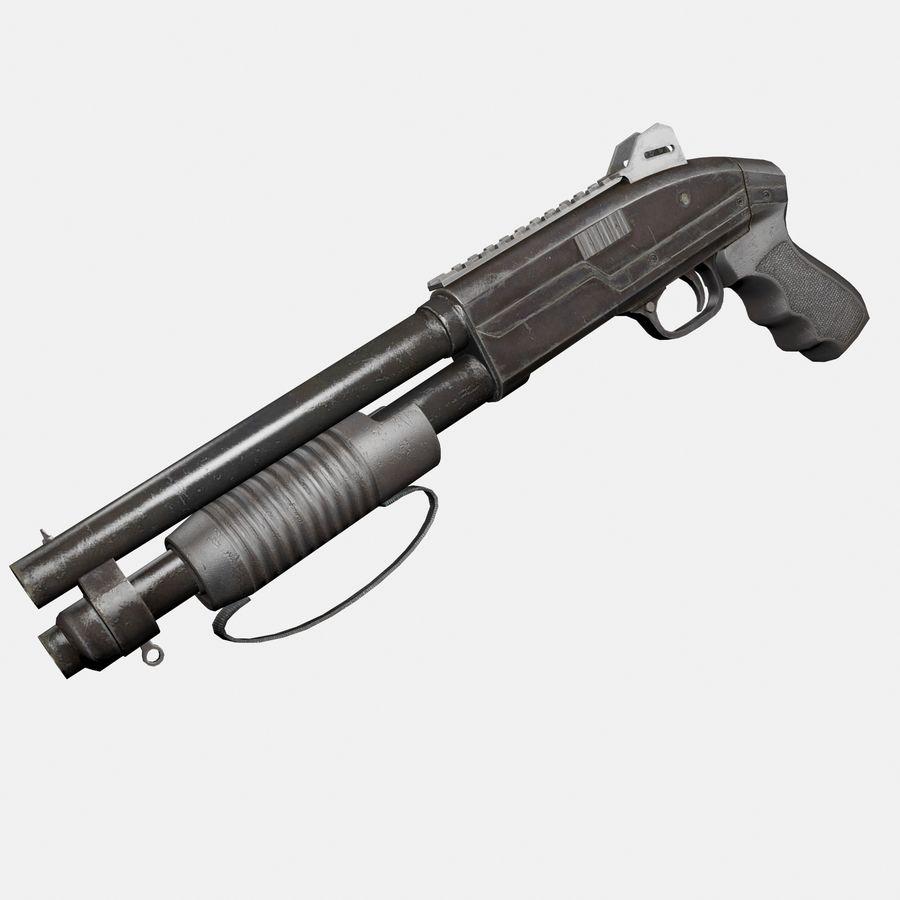 Assault Shotgun royalty-free 3d model - Preview no. 1