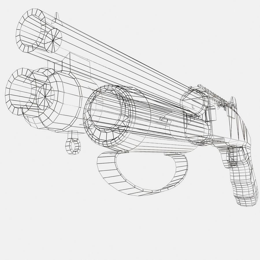 Assault Shotgun royalty-free 3d model - Preview no. 8
