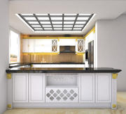 kitchen Interior 3D-Modell 3d model