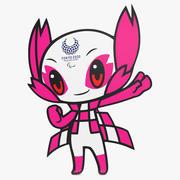 Tokyo Paralympic Mascot 3d model