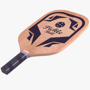 Pickleball Paddle Racket 3d model