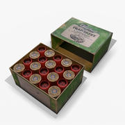 Kartuşları Kutu PBR 3d model