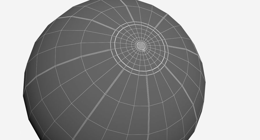 BeachBall Colors royalty-free 3d model - Preview no. 10