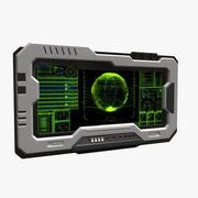 공상 과학 모니터 _02 3d model