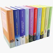 Livros infantis 3d model