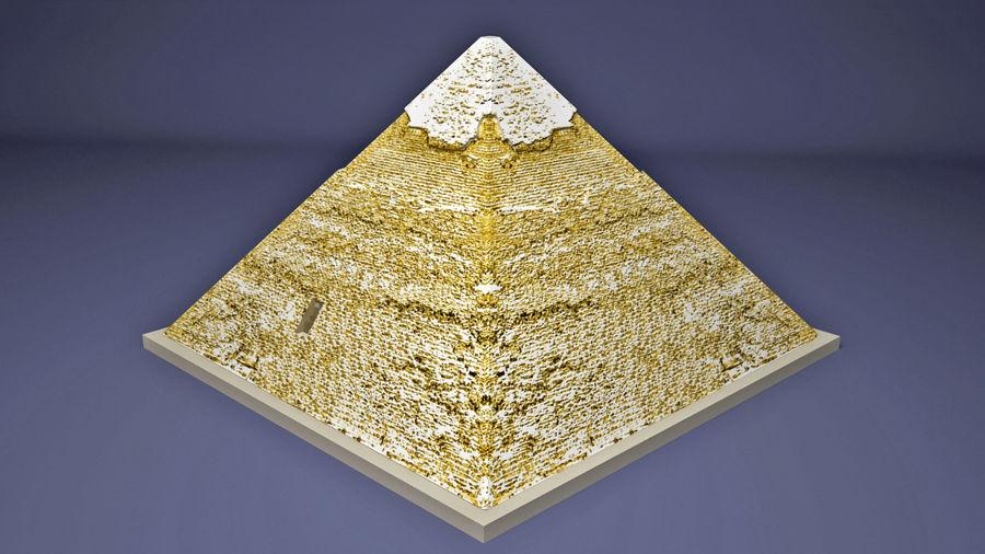 카 프레의 이집트 피라미드 royalty-free 3d model - Preview no. 8