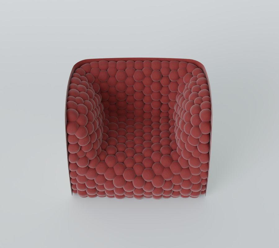 扶手椅软立方体现代 royalty-free 3d model - Preview no. 17