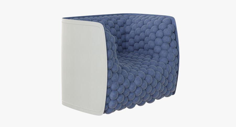 扶手椅软立方体现代 royalty-free 3d model - Preview no. 2