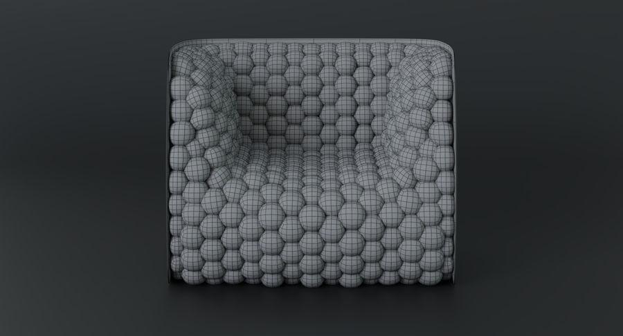 扶手椅软立方体现代 royalty-free 3d model - Preview no. 22