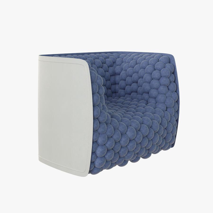 扶手椅软立方体现代 royalty-free 3d model - Preview no. 1