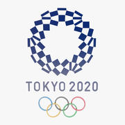 Jogos Olímpicos de Tóquio 2020 Logo 3d model