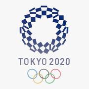Tokyo 2020 Olympics Games Logo 3d model