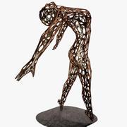 アートウーマンダンス彫刻1 3d model