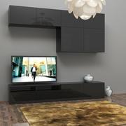 Unité de télévision 3d model