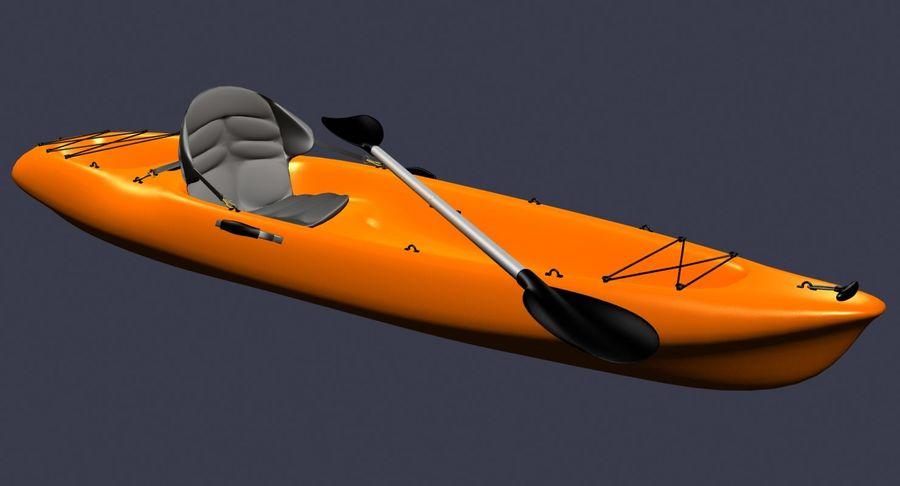 Caiaque royalty-free 3d model - Preview no. 5