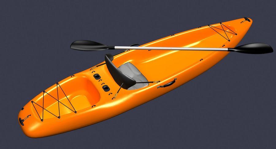 Caiaque royalty-free 3d model - Preview no. 1