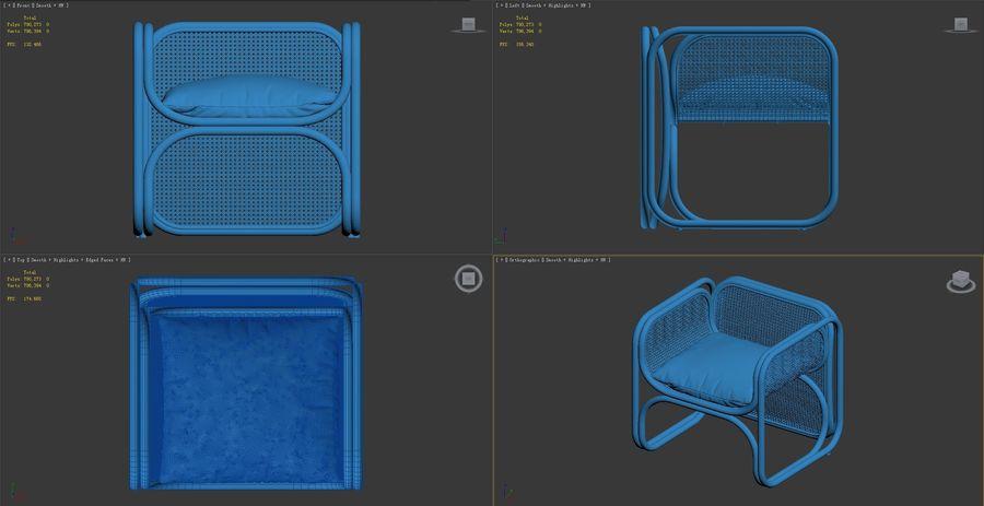 produkt-vilstol-natura royalty-free 3d model - Preview no. 6