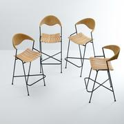 Stołki barowe autorstwa Arthura Umanoffa 3d model