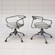 애 크런 책상 의자 3d model