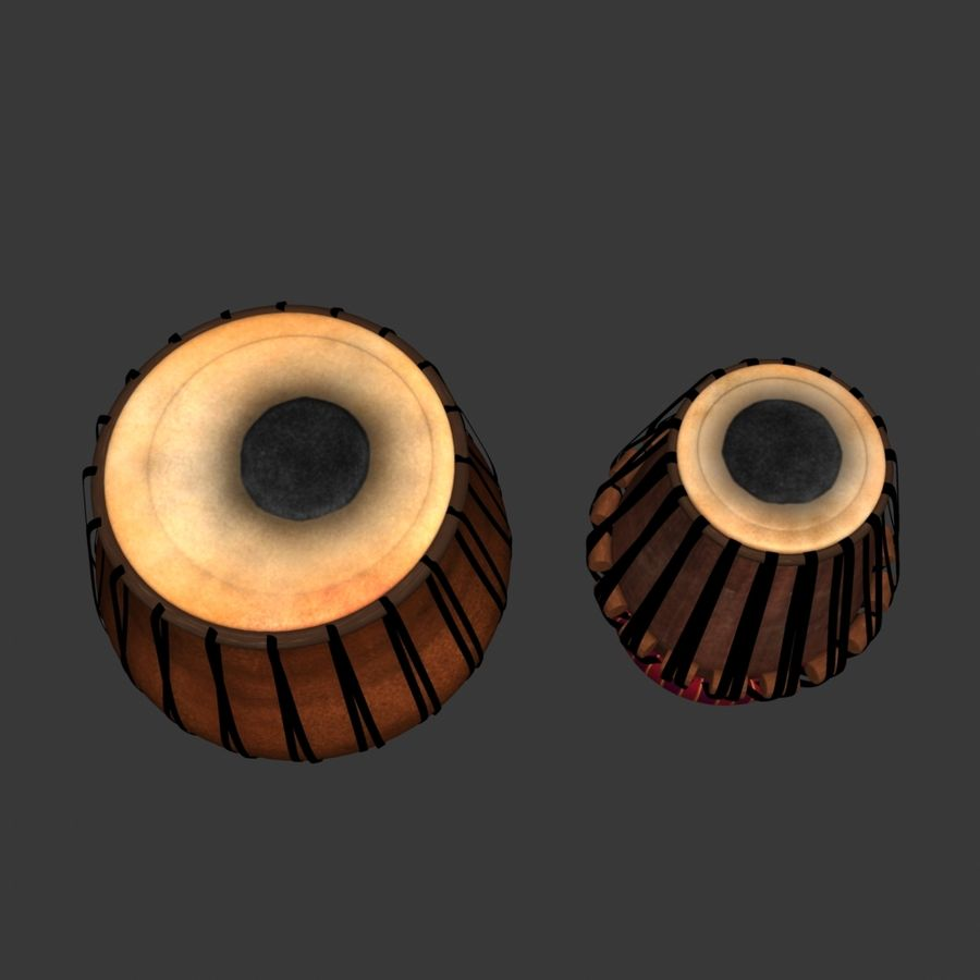 Tabla royalty-free 3d model - Preview no. 5