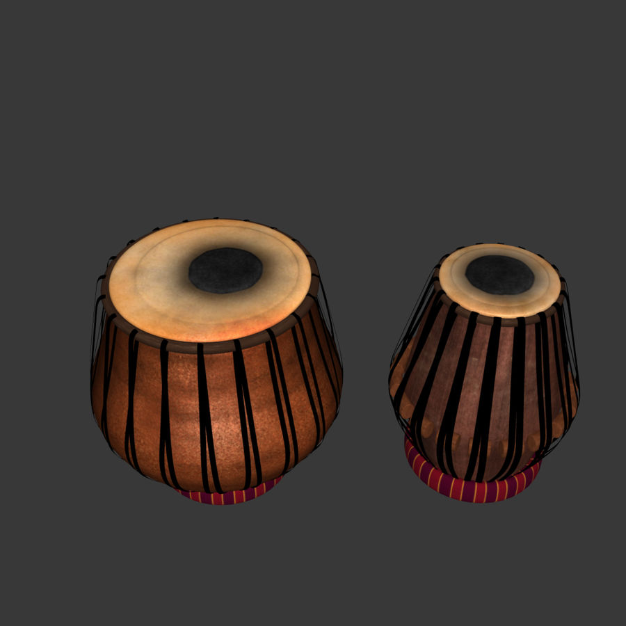 Tabla royalty-free 3d model - Preview no. 1