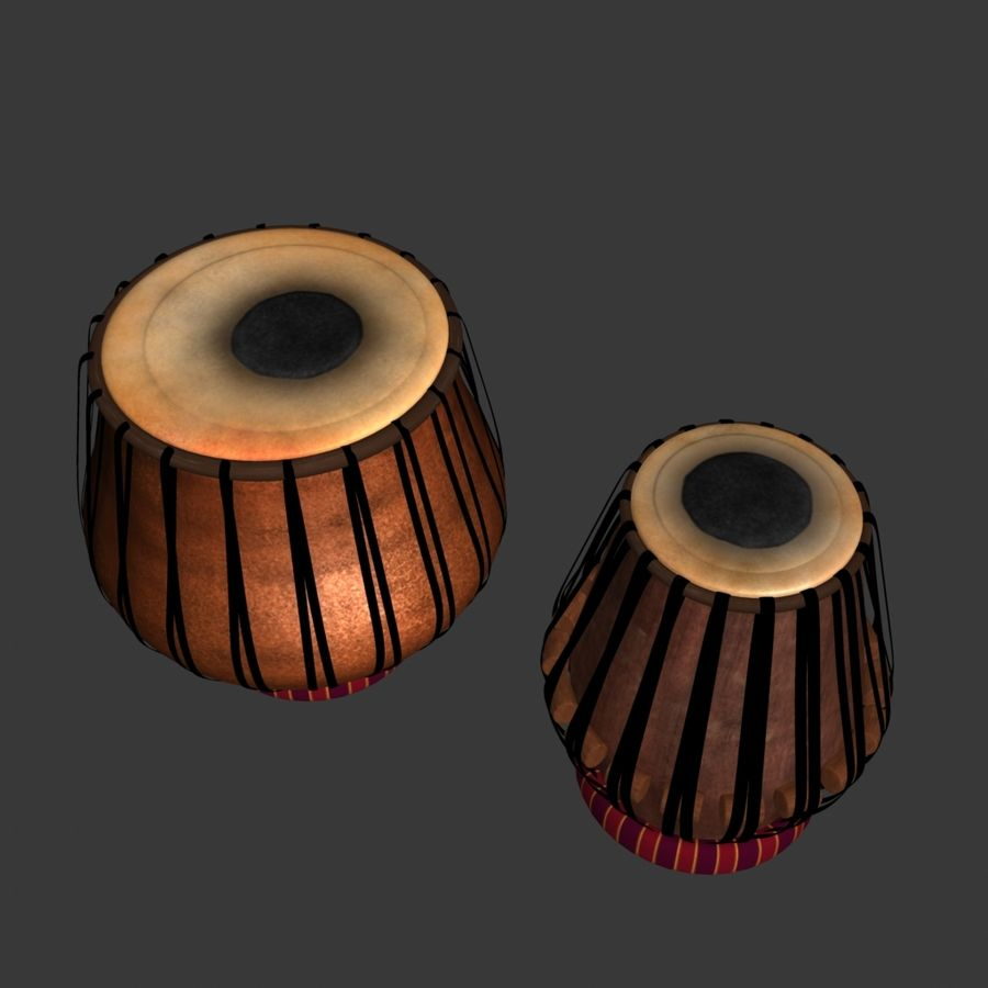 Tabla royalty-free 3d model - Preview no. 4