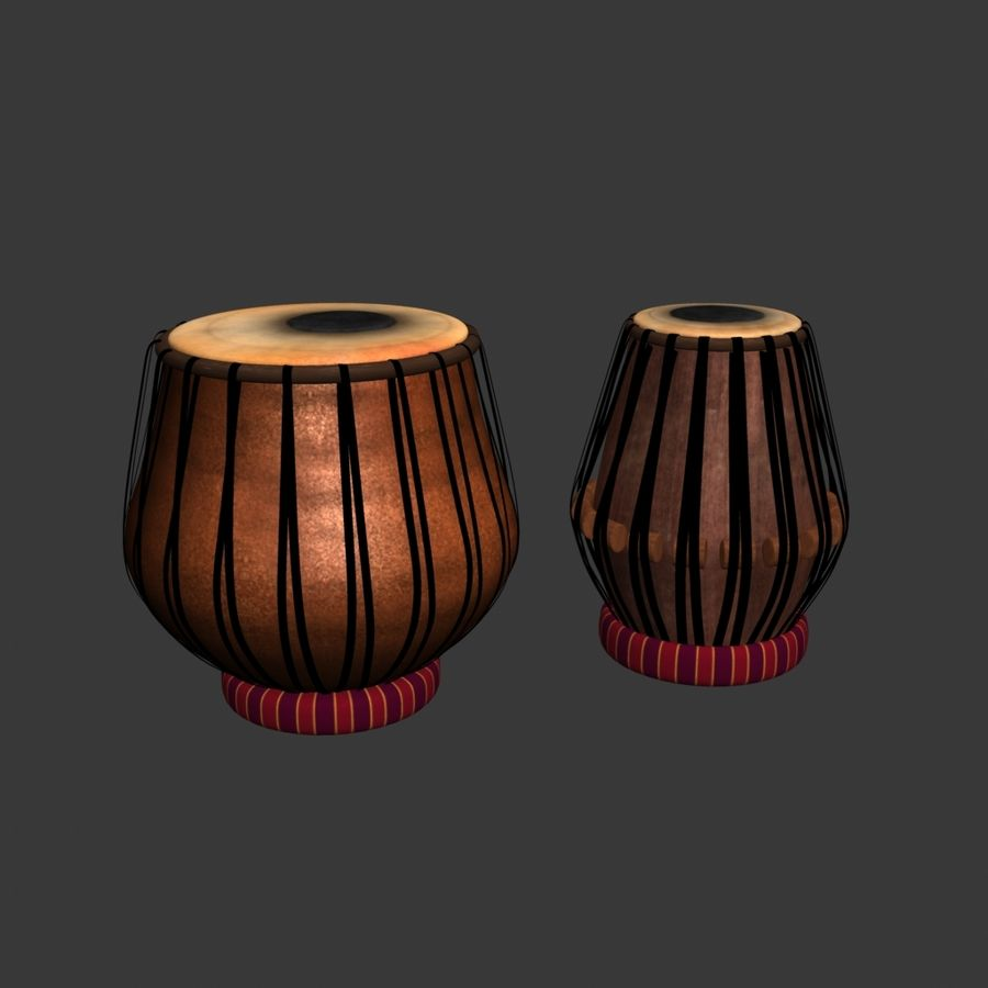 Tabla royalty-free 3d model - Preview no. 3