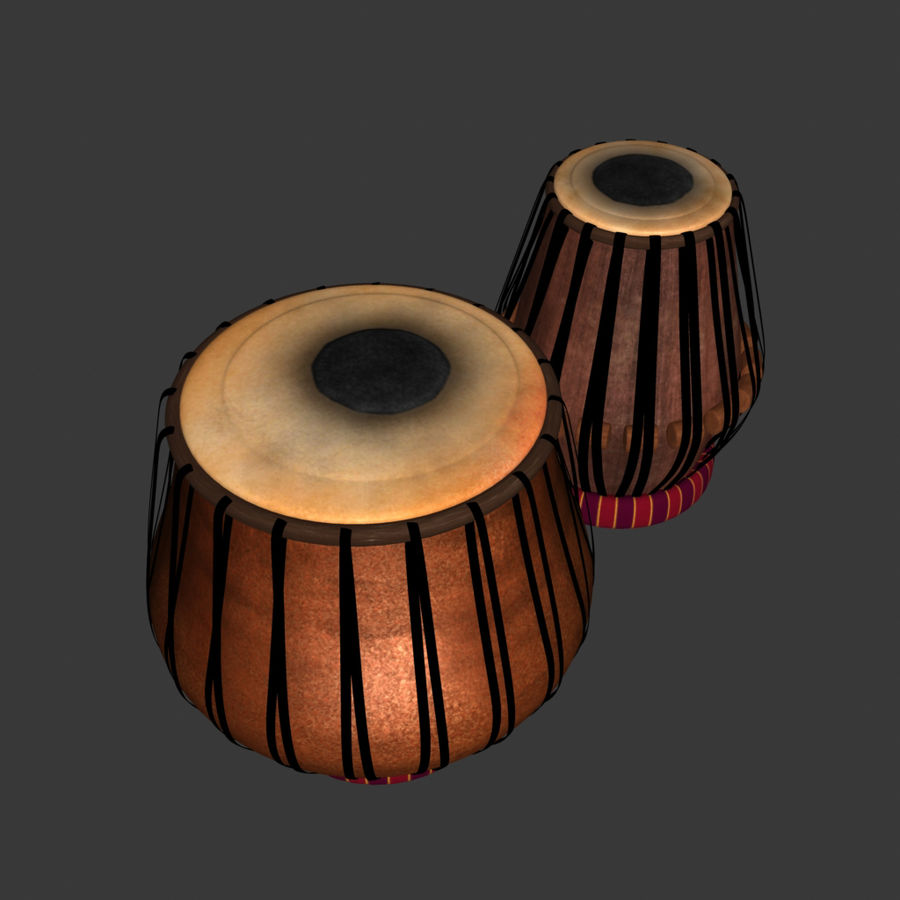 Tabla royalty-free 3d model - Preview no. 2