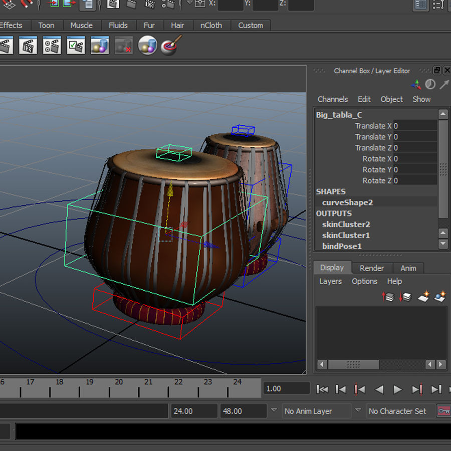 Tabla royalty-free 3d model - Preview no. 10