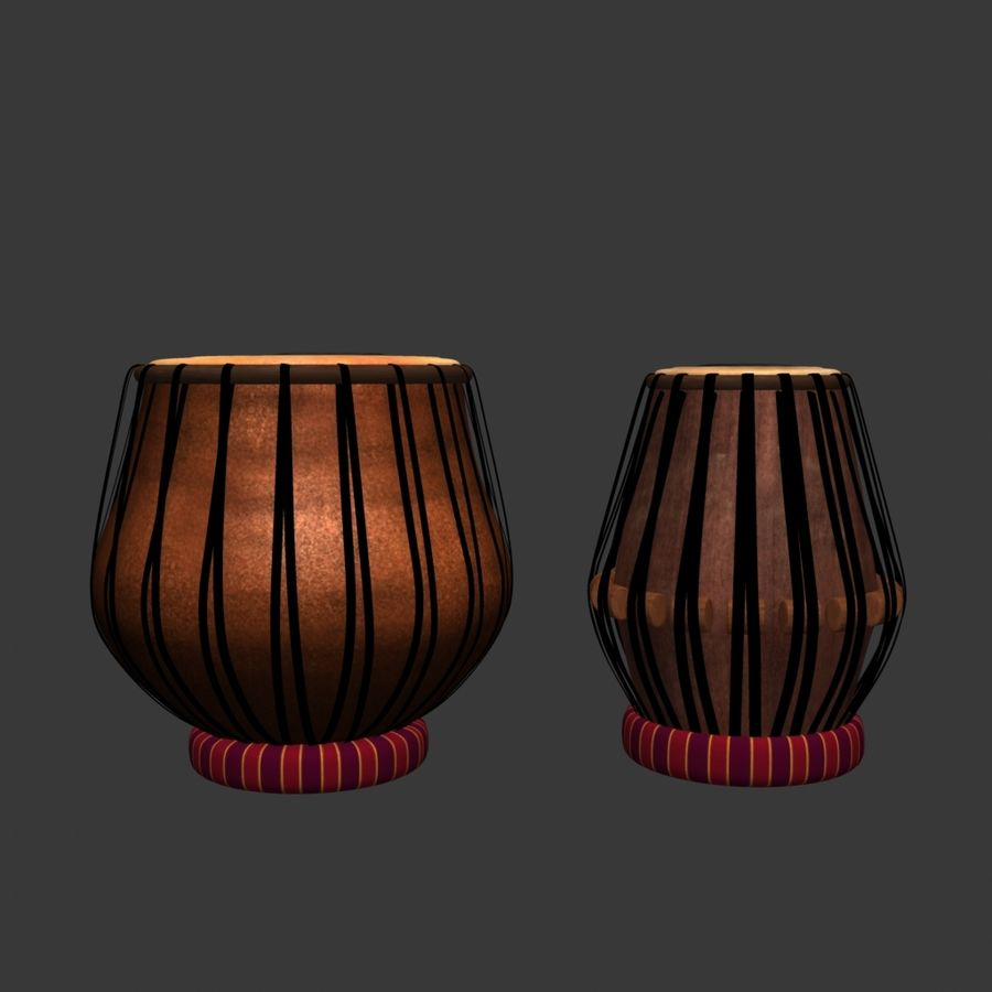 Tabla royalty-free 3d model - Preview no. 7