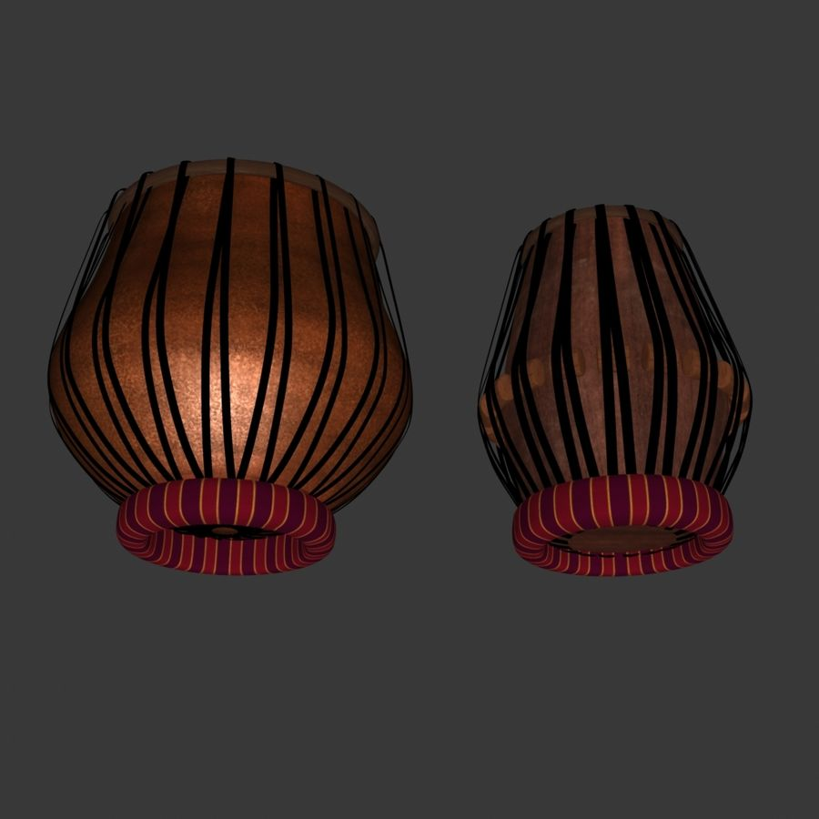 Tabla royalty-free 3d model - Preview no. 6