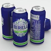 ビール缶ビールアルコールフリーラガーアイソトニック500 ml 3d model